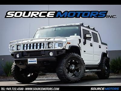 2006 Hummer H2 SUT 2006 Hummer H2 SUT, Chrome Pkg, Rockstar Wheels, Leather, Navigation, Mud Grplrs