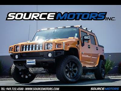 2006 Hummer H2 SUT 2005 Hummer H2 SUT Fusion Orange, Method Wheels, Navigation, DVD TV's, LOW miles