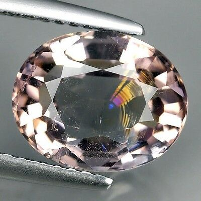 UNBEHANDELT ! Rosa-Gold Tourmalin 3,08 ct, VS, 10,3 x 8,2 mm