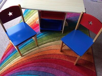 Children's Kidcraft table and chairs