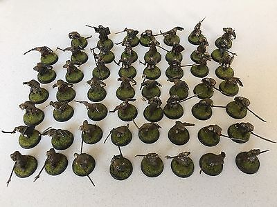 54 x Painted & Based Mordor Orcs Plastic models War games Ready War of the Ring