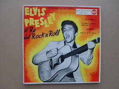"Elvis Presley - Il Re Del Rock'n'roll (Ep 7"" 45 Giri)"