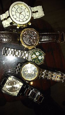 Seiko, fossil, Gusse, Gruen and Marc Ecko watchs