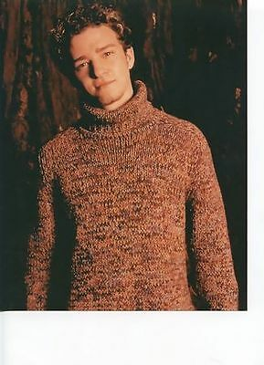 Justin Timberlake 8x10 Photo - T5850