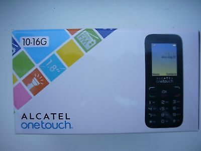 "BRAND NEW Alcatel OneTouch 10.16G Mobile Phone 1.8"" Screen With FM Unlocked"