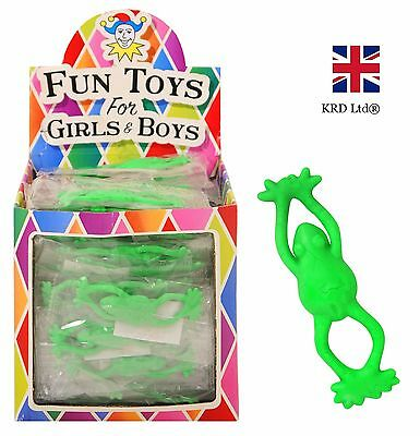 Kids FLYING FROGS Girls Boys Birthday Party Bag Fillers Favors Loot Gift Toys UK