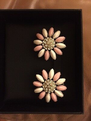 Miu Miu Clip-on Earrings With Swarovski Crystals
