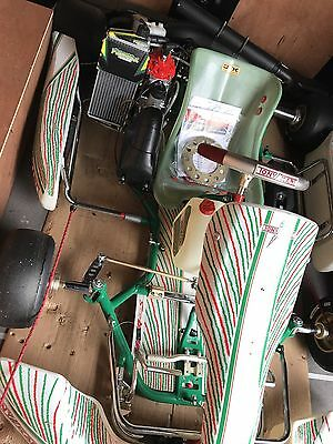 Go Kart 2017 OTK Tonykart 401s Rolling Chassis Fitted With New Rotax EVO Engine