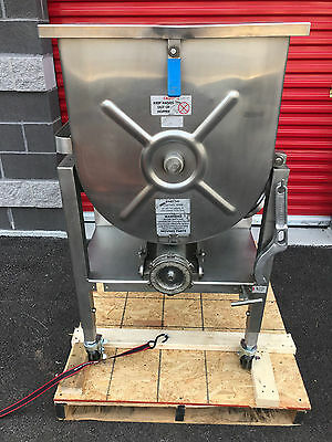 Hollymatic GMG180A #42 Stainless Meat Mixer Grinder 7.5hp (Fully serviced)