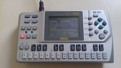 Yamaha QY70 Music Sequencer - With accessories