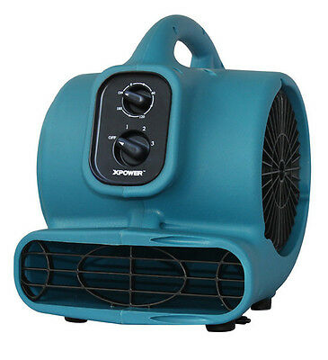 Dryer P-230AT,1/5 HP 800 CFM,Mini air mover,with daisy chain,3hr timer Xpower