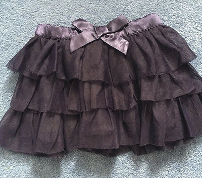Gap Girls Purple Tutu Skirt Age 12-18 Months