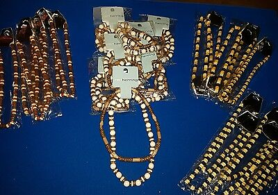 joblot 25 assorted elasticated beaded necklaces #25ST