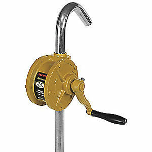 FILL-RITE Hand Operated Drum Pump,Rotary,7.5 GPM, SD62