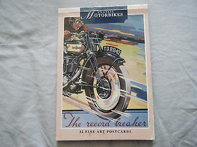 Book Of Motorbike Postcards - 22 In All