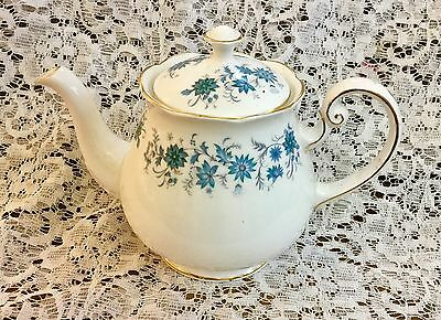 Vintage Bone China Colclough 1.5 Pint Teapot *Braganza*