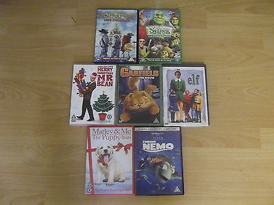 Collection Of 7 Children's Dvd Movies