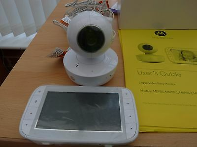 "Motorola 5"" Portable Digital Baby Monitor   Mbp55"