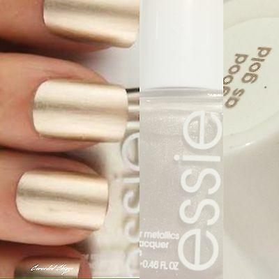 Essie Nail Polish Lacquer 13.5 ml # AS GOLD AS IT GETS Free And Safe Postage