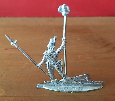 Sargent Masterson with French Imperial Eagle Tin Figurine Zinnfiguren -  Kugl