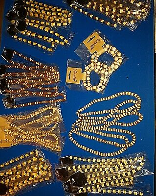 joblot 60 elasticated beaded necklaces assorted #42ST