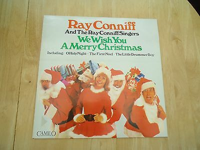 Ray Conniff & The Ray Conniff Singers ~ We Wish You A Merry Christmas ~ Lp Album