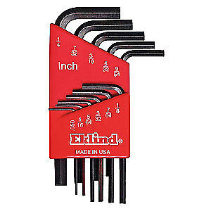 EKLIND Hex Key Set,11 Pieces, 10111