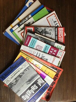 A Mixture Of Football Programmes Late 60s Early 70s