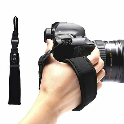 Hand Grip Strap Belt Wrap Wrist Strap For Canon Nikon DSLR SLR Digital Camera UK