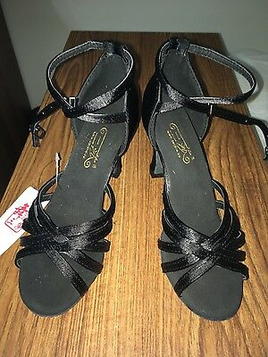 New Women's Ballroom Salsa Tango Party Jive Dance Shoes Very Fine Sandals