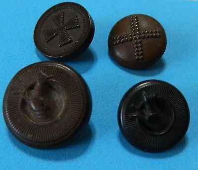 LOT Antique GOODYEARs PICTURE CROSS DEER Threw TIRE Rubber Buttons NRCo BkMk