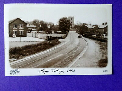 Flintshire, Hope Village 1962, reprints of Francis Frith postcards of the 1930s