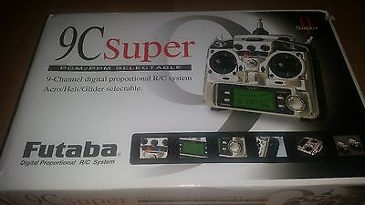 Futaba 9C Super PCM/PPM Selectable 9  Channel RC system