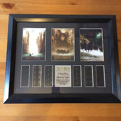 The Lord of the Rings Film Cells - Fellowship - 50/1000 Limited Edition