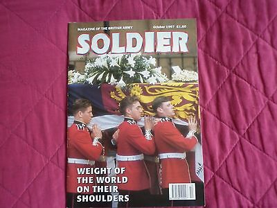 SOLDIER Oct 1997 Highland Fusiliers Princess Diana Martin Bell