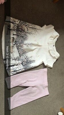 Next Baby Girls Clothes 3-6 Months