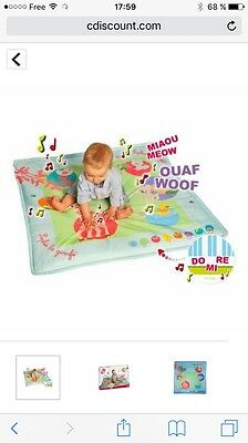 SOPHIE LA GIRAFE Tapis d'Eveil Touch & Play mat