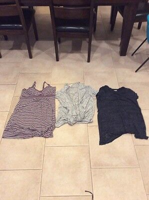 Lot Of 3 Jessica Simpson Maternity Tops Size Large Euc