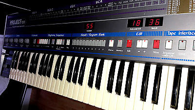 SOLTON PROJECT 100 - RARE SSM based vintage polyphonic synthesizer w sequencer