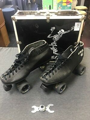 Riedell Vintage U.S.A. Sure Grip  Speed Roller Skates (USED) Free Ship