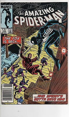 Amazing Spider-Man #265 Nm 1985 1St App Silver Sable 75 Cent Canadian Price