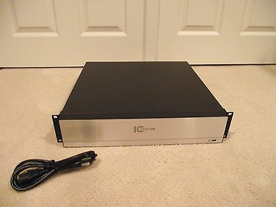 USED IC Realtime NVR-708N-1TB NVR708N 1TB 2U Network Video Recorder NVR 8CH IP
