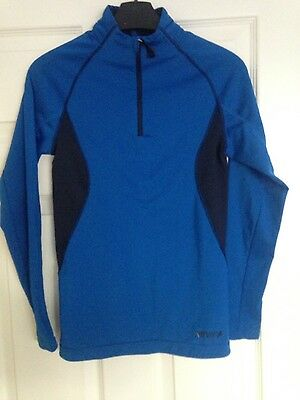 Boys Blue Base layer age 11-12 years
