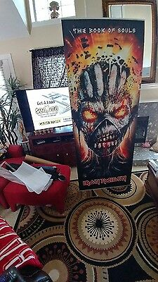 Iron Maiden Stand Up Banner with Stand NEW BANNER Rock Vibrant Colors