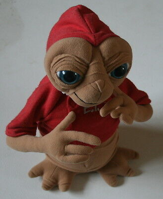 "Original Vintage Retro 1980S Large 12"" Inch Et Plush Soft Toy Extra Terrestrial"