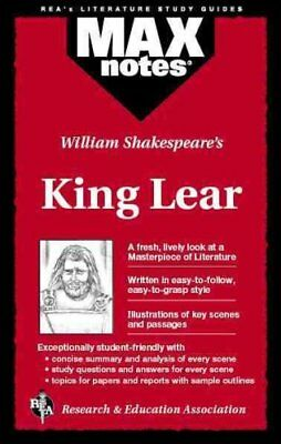 "William Shakespeare's ""King Lear"" by Corinna Siebert Ruth 9780878919895"