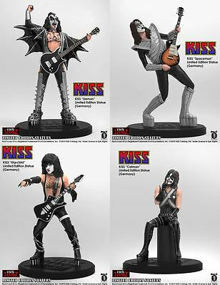 Kiss Rock Iconz KnuckleBonz Statues GERMAN LIMITED EDITION OF 100 (NEW) $50 OFF