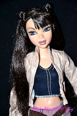 My Scene Barbie Doll Nolee Asian Black Hair Purple Eyes