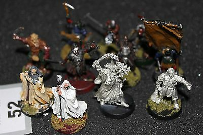 Games Workshop Lord of the Rings Metal Figures Bundle Evil Orc Spares Job Lot
