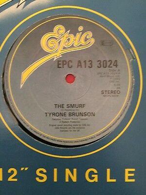 "TYRONE BRUNSON ~ The Smurf ~ 12"" Single"